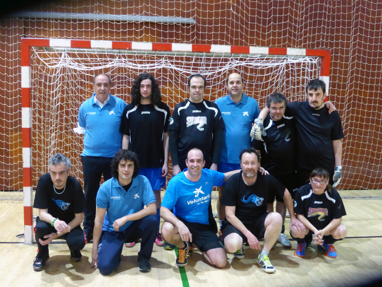 L'equip i els voluntaris