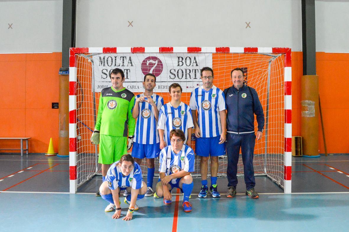 Futbol a Olot 14 oct. 2018